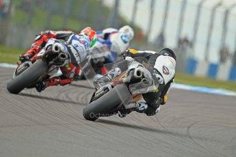 © Octane Photographic Ltd. 2012 World Superbike Championship – European GP – Donington Park. Saturday 12th May 2012. WSBK Free Practice. Leon Haslam, Jakob Smrz and Maxime Berger. Digital Ref : 0333cb1d4262