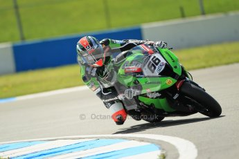 © Octane Photographic Ltd. 2012 World Superbike Championship – European GP – Donington Park. Friday 11th May 2012. WSBK Free Practice. Tom Sykes - Kawasaki ZX-10R. Digital Ref : 0328cb1d2282
