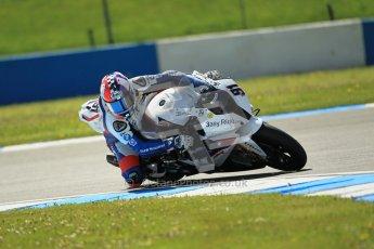 © Octane Photographic Ltd. 2012 World Superbike Championship – European GP – Donington Park. Friday 11th May 2012. WSBK Free Practice. Leon Haslam - BMW S1000RR. Digital Ref : 0328cb1d2333