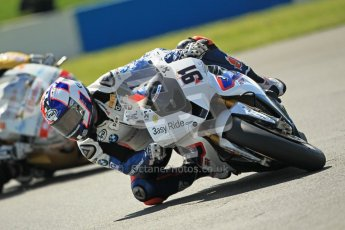 © Octane Photographic Ltd. 2012 World Superbike Championship – European GP – Donington Park. Friday 11th May 2012. WSBK Free Practice. Leon Haslam - BMW S1000RR. Digital Ref : 0328cb1d2335