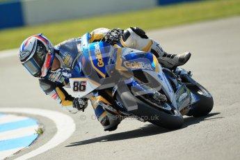 © Octane Photographic Ltd. 2012 World Superbike Championship – European GP – Donington Park. Friday 11th May 2012. WSBK Free Practice. Ayrton Bodovini - BMW S1000RR. Digital Ref : 0328cb1d2379