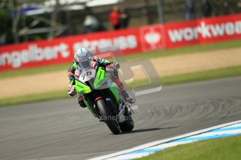 © Octane Photographic Ltd. 2012 World Superbike Championship – European GP – Donington Park. Friday 11th May 2012. WSBK Free Practice. Loris Baz - Kawasaki ZX-10R. Digital Ref : 0328cb1d2572