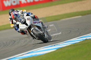 © Octane Photographic Ltd. 2012 World Superbike Championship – European GP – Donington Park. Friday 11th May 2012. WSBK Free Practice. Leon Haslam - BMW S1000RR. Digital Ref : 0328cb1d2591