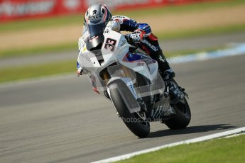 © Octane Photographic Ltd. 2012 World Superbike Championship – European GP – Donington Park. Friday 11th May 2012. WSBK Free Practice. Marco Melandri - BMW S1000RR. Digital Ref : 0328cb1d2740