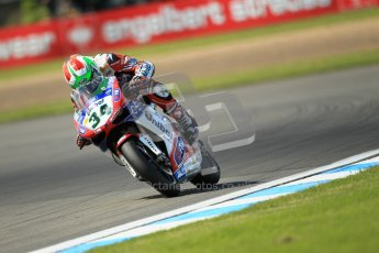 © Octane Photographic Ltd. 2012 World Superbike Championship – European GP – Donington Park. Friday 11th May 2012. WSBK Free Practice. Davide Giuliano - Ducati 1098R. Digital Ref : 0328cb1d2763