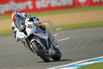 © Octane Photographic Ltd. 2012 World Superbike Championship – European GP – Donington Park. Friday 11th May 2012. WSBK Free Practice. Leon Haslam - BMW S1000RR. Digital Ref : 0328cb1d2815