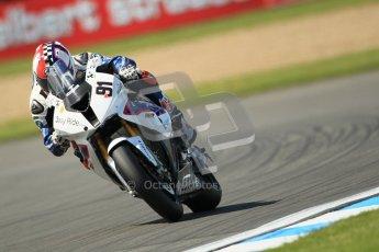 © Octane Photographic Ltd. 2012 World Superbike Championship – European GP – Donington Park. Friday 11th May 2012. WSBK Free Practice. Leon Haslam - BMW S1000RR. Digital Ref : 0328cb1d2834