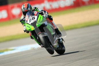© Octane Photographic Ltd. 2012 World Superbike Championship – European GP – Donington Park. Friday 11th May 2012. WSBK Free Practice. Tom Sykes - Kawasaki ZX-10R. Digital Ref : 0328cb1d2836