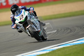 © Octane Photographic Ltd. 2012 World Superbike Championship – European GP – Donington Park. Friday 11th May 2012. WSBK Free Practice. Leon Camier - Suzuki GSX-R1000. Digital Ref : 0328cb1d2850