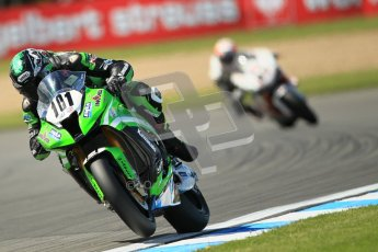 © Octane Photographic Ltd. 2012 World Superbike Championship – European GP – Donington Park. Friday 11th May 2012. WSBK Free Practice. Gary Mason - Kawasaki ZX-10R. Digital Ref : 0328cb1d2858
