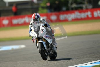 © Octane Photographic Ltd. 2012 World Superbike Championship – European GP – Donington Park. Friday 11th May 2012. WSBK Free Practice. Leon Haslam - BMW S1000RR. Digital Ref : 0328cb1d2886