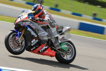 © Octane Photographic Ltd. 2012 World Superbike Championship – European GP – Donington Park. Friday 11th May 2012. WSBK Free Practice. Mark Aitchison - BMW S1000RR. Digital Ref : 0328cb7d1288