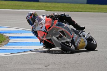 © Octane Photographic Ltd. 2012 World Superbike Championship – European GP – Donington Park. Friday 11th May 2012. WSBK Free Practice. Max Biaggi - Aprillia RSV4 Factory. Digital Ref : 0328lw7d3423