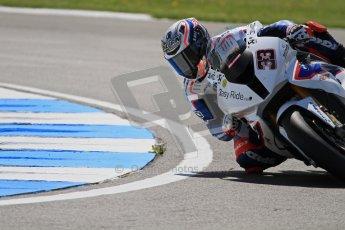 © Octane Photographic Ltd. 2012 World Superbike Championship – European GP – Donington Park. Friday 11th May 2012. WSBK Free Practice. Marco Melandri - BMW S1000RR. Digital Ref : 0328lw7d3562