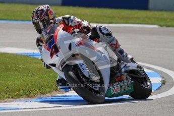 © Octane Photographic Ltd. 2012 World Superbike Championship – European GP – Donington Park. Friday 11th May 2012. WSBK Free Practice. Hiroshi Aoyama - Honda CBR1000RR. Digital Ref : 0328lw7d3757