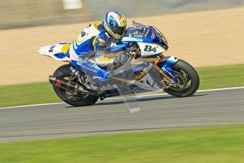 © Octane Photographic Ltd. 2012 World Superbike Championship – European GP – Donington Park. Saturday 12th May 2012. WSBK Saturday Qualifying practice. Michel Fabrizio. Digital Ref : 0332cb1d3397