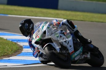 © Octane Photographic Ltd. 2012 World Superbike Championship – European GP – Donington Park. Saturday 12th May 2012. WSBK Saturday Qualifying practice. Leon Camier. Digital Ref : 0332lw7d4833