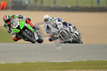 © Octane Photographic Ltd 2012. World Superbike Championship – European GP – Donington Park, Sunday 13th May 2012. Race 1. Tom Sykes, Leon Haslam and Marco Melandri. Digital Ref : 0335cb1d5212
