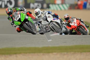 © Octane Photographic Ltd 2012. World Superbike Championship – European GP – Donington Park, Sunday 13th May 2012. Race 1. Tom Sykes, Leon Haslam and Max Biaggi. Digital Ref : 0335cb1d5240