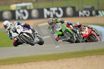 © Octane Photographic Ltd 2012. World Superbike Championship – European GP – Donington Park, Sunday 13th May 2012. Race 1. Leon Haslam, Tom Sykes, Marco Melandri and Max Biaggi. Digital Ref : 0335cb1d5263