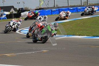© Octane Photographic Ltd 2012. World Superbike Championship – European GP – Donington Park, Sunday 13th May 2012. Race 2. Tom Sykes. Digital Ref : 0337lw7d7664