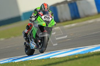 © Octane Photographic Ltd 2012. World Superbike Championship – European GP – Donington Park. Superpole session 2. Pole position - Tom Sykes - Kawasaki ZX-10R. Digital Ref :  0334cb1d4501