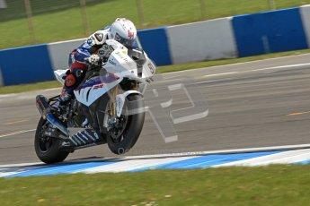 © Octane Photographic Ltd 2012. World Superbike Championship – European GP – Donington Park. Superpole session 1. 2nd Place - Leon Haslam - BMW S1000RR. Digital Ref : 0334cb7d2132