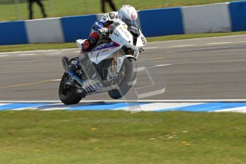 © Octane Photographic Ltd 2012. World Superbike Championship – European GP – Donington Park. Superpole session 1. 2nd Place - Leon Haslam - BMW S1000RR. Digital Ref :  0334cb7d2173