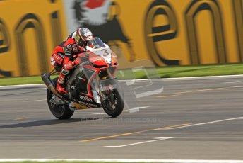© Octane Photographic Ltd 2012. World Superbike Championship – European GP – Donington Park. Superpole session 3. 2nd Place - Leon Haslam - BMW S1000RR. Digital Ref : 0334cb7d2225