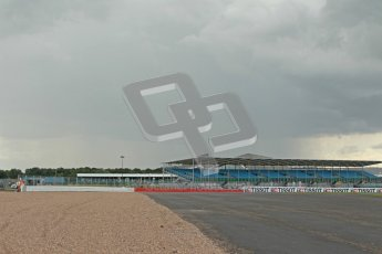 © Octane Photographic Ltd. World Superbike Championship – Silverstone, Superpole. Saturday 4th August 2012. Rain clouds threatened to disrupt the session. Digital Ref : 0447cb1d1522