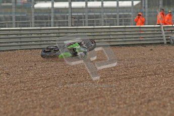 © Octane Photographic Ltd. World Superbike Championship – Silverstone, Superpole. Saturday 4th August 2012. Tom Sykes crashed out from the final superpole session relegating himself to 8th on the grid - Kawasaki ZX-10R - Kawasaki Racing Team. Digital Ref : 0447cb1d1764