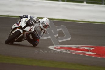 © Octane Photographic Ltd. World Superbike Championship – Silverstone, Superpole. Saturday 4th August 2012. Leon Haslam - BMW S1000 RR - BMW Motorrad Motorsport. Digital Ref : 0447lw7d0939