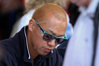 World © Octane Photographic Ltd./Carl Jones. Sunday September 1st 2013, AutoGP Race 2, Donington Park. Kimiya Sato – Euroova Racing. Digital Ref : 0807cj7d4183