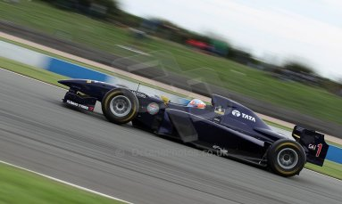 World © Octane Photographic Ltd./Carl Jones. Sunday September 1st 2013, AutoGP Race 2, Donington Park - Narain Karthikeyan, Super Nova. Digital Ref : 0807cj7d4485