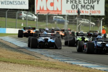 World © Octane Photographic Ltd./Carl Jones. Sunday September 1st 2013, AutoGP Race 1, Donington Park. Digital Ref : 0804cj1d1324