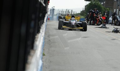 World © Octane Photographic Ltd./Carl Jones. Sunday September 1st 2013, AutoGP Race 1, Donington Park - Narain Karthikeyan, Super Nova. Digital Ref : 0804cj7d3801