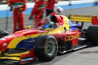 World © Octane Photographic Ltd./Carl Jones. Sunday September 1st 2013, AutoGP Race 1, Donington Park. Digital Ref : 0804cj7d3847