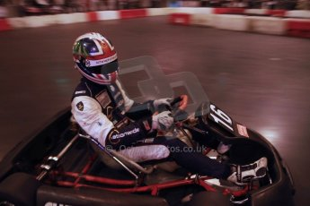 ©  Octane Photographic Ltd./Carl Jones. January 11th 2013. Autosport International. Autosport International Karting Challenge in aid of The Alzheimer's Society. Kieran Vernon. Digiatal Ref :