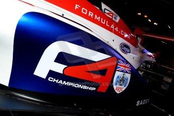 World ©  Octane Photographic Ltd. January 11th 2013. Autosport International. BRDC Formula 4 (F4). The new F4 car, the MSV F4-013. Digital Ref : 0566ce1d2247