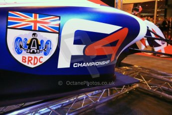 World ©  Octane Photographic Ltd. January 11th 2013. Autosport International. BRDC Formula 4 (F4). The new F4 car, the MSV F4-013. Digital Ref : 0566lw1d5837