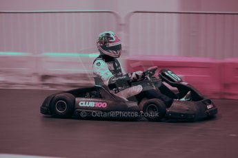 ©  Octane Photographic Ltd. January 11th 2013. Autosport International. Autosport International Karting Challenge in aid of The Alzheimer's Society. Kieran Vernon. Digiatal Ref :