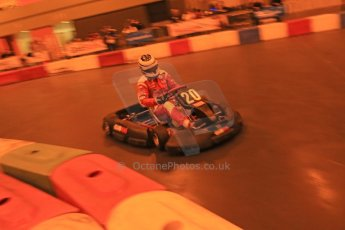 ©  Octane Photographic Ltd. January 11th 2013. Autosport International. Autosport International Karting Challenge in aid of The Alzheimer's Society. Jame Cole. Digiatal Ref :