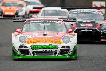 World © Octane Photographic Ltd. Avon Tyres British GT Championship. Monday 1st April 2013 Oulton Park – Race 1. Porsche 997 GT3-R – Trackspeed – Phil Keen, Jon Minshaw. Digital Ref : 0623ce1d8668