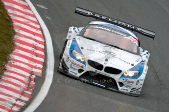 World © Octane Photographic Ltd. Avon Tyres British GT Championship. Monday 1st April 2013 Oulton Park – Race 1. BMW Z4 GT3 – Ecurie Ecosse with Barwell Motorsport – Oliver Bryant, Marco Attard. Digital Ref : 0623ce1d8906