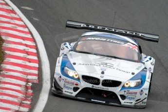 World © Octane Photographic Ltd. Avon Tyres British GT Championship. Monday 1st April 2013 Oulton Park – Race 1. BMW Z4 GT3 – Ecurie Ecosse with Barwell Motorsport – Oliver Bryant, Marco Attard. Digital Ref : 0623ce1d8907