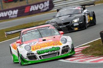 World © Octane Photographic Ltd. Avon Tyres British GT Championship. Monday 1st April 2013 Oulton Park – Race 2. Porsche 997 GT3-R – Trackspeed – Phil Keen, Jon Minshaw. Digital Ref : 0625ce1d9707