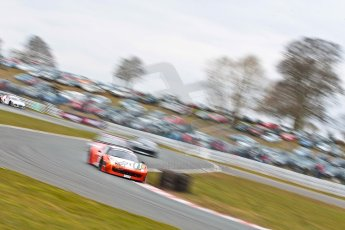 World © Octane Photographic Ltd. Avon Tyres British GT Championship. Monday 1st April 2013 Oulton Park – Race 2. Ferrari 458 Italia – MTEC – Matt Griffin, Duncan Cameron. Digital Ref : 0625ce1d9824