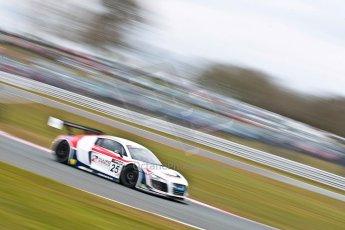 World © Octane Photographic Ltd. Avon Tyres British GT Championship. Monday 1st April 2013 Oulton Park – Race 2. Audi R8 LMS Ultra – United Autosports – Zak Brown, Matt Bell, Mark Patterson. Digtal Ref : 0625ce1d9830