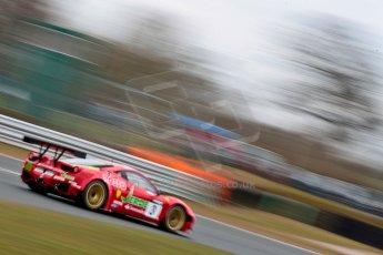World © Octane Photographic Ltd. Avon Tyres British GT Championship. Monday 1st April 2013 Oulton Park – Race 2. Ferrari 458 Italia – Rosso Verde – Hector Lester, Allan Simonsen. Digital Ref : 0625ce1d9854
