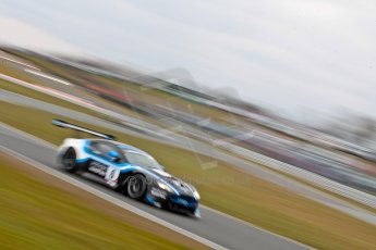 World © Octane Photographic Ltd. Avon Tyres British GT Championship. Monday 1st April 2013 Oulton Park – Race 2. Aston Martin V12 Vantage GT3 – PGF-Kinfaun AMR – John Gaw, Phil Dryburgh. Digital Ref : 0625ce1d9865